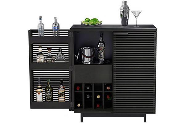 Large image of BDI Corridor Bar Charcoal Cabinet - 5620 CRL
