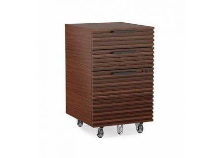 BDI Corridor Chocolate Stained Walnut File Cabinet - CORRIDOR6507CWL
