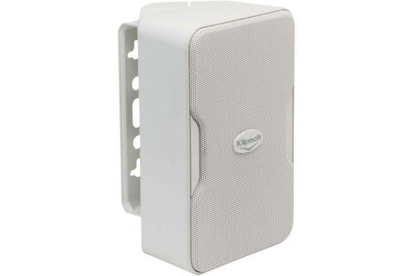 Large image of Klipsch Compact Performance Series White Indoor/Outdoor Loudspeakers (Pair) - 1060386
