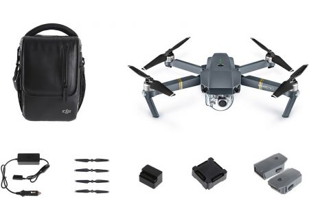 DJI Mavic Pro Quadcopter Fly More Combo Pack - CP.PT.000642
