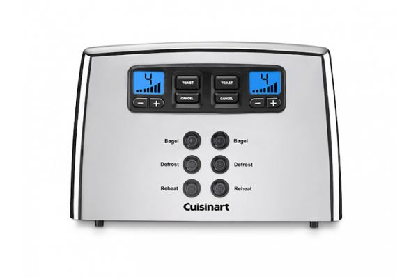 Cuisinart Touch To Toast Leverless 4 Slice Toaster - CPT440P1