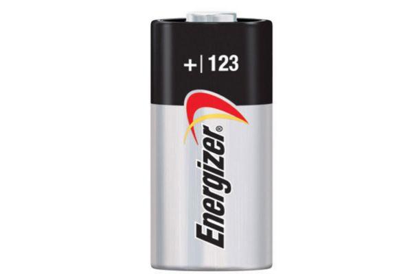 Large image of Energizer EL-123 3V Photo Lithium Battery - EL123APBP