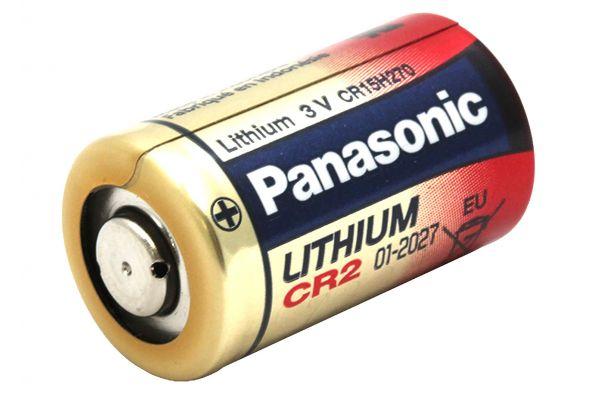 Large image of Panasonic CR2 Lithium Battery - CR2L/BUN
