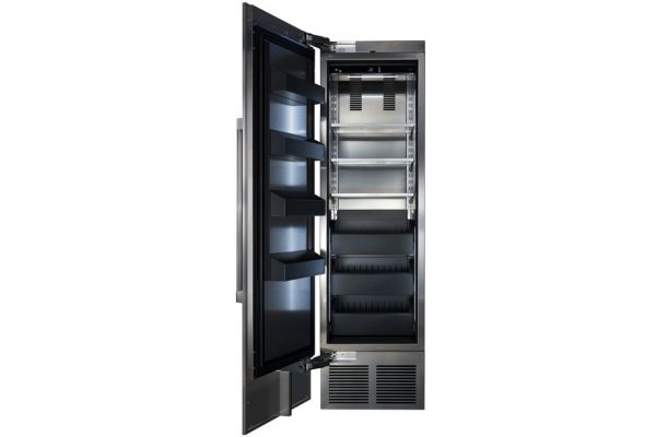 "Large image of Perlick 24"" Panel Ready Left-Hinge Built-In Freezer Column - CR24F-1-2L"