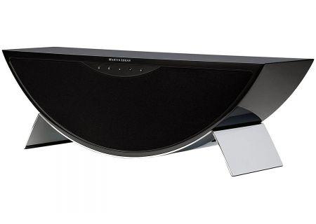 MartinLogan High Gloss Black Crescendo X Wireless Speaker - CRESCENDOXBK