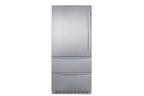 "Large image of Liebherr 36"" Stainless Steel Left-Hinge Fridge-Freezer With NoFrost - CS-2081"
