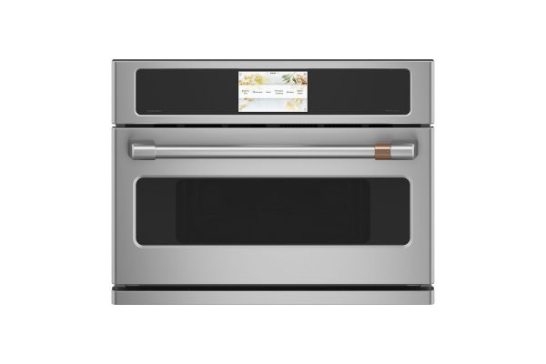 """Large image of Cafe 27"""" Stainless Steel Built-In Single Convection Wall Oven - CSB912P2NS1"""