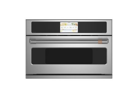 "Cafe 30"" Stainless Steel Built-In Single Convection Wall Oven - CSB913P2NS1"