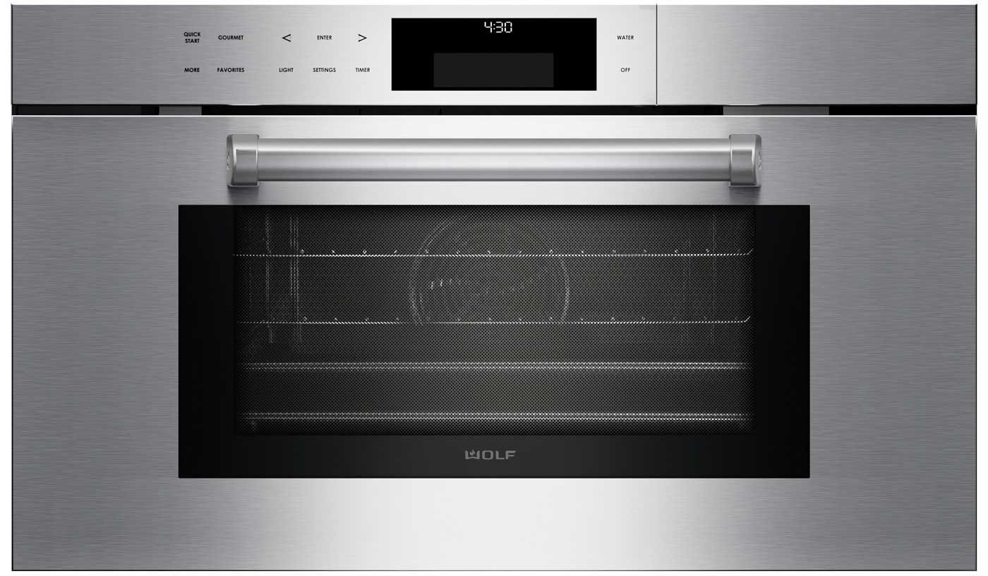 Wolf 30 Professional Convection Steam Oven CSO30PMSPH