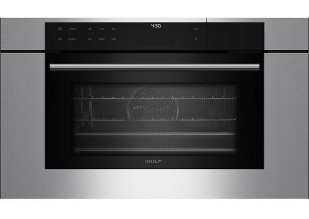 """Wolf 30"""" M Series Built-In Stainless Steel Transitional Convection Steam Oven  - CSOTM/S/TH"""