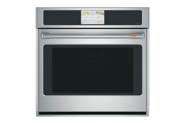 """Large image of Cafe 30"""" Stainless Steel Built-In Single Convection Wall Oven - CTS70DP2NS1"""