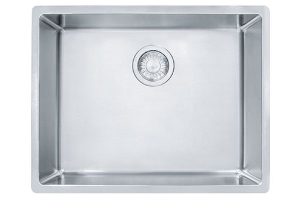 Large image of Franke Cube Undermount Stainless Steel Kitchen Sink - CUX110-23