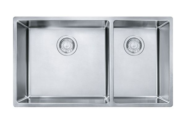 Large image of Franke Cube Stainless Steel Kitchen Sink - CUX160