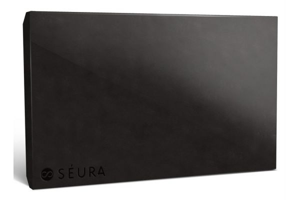 """Large image of Seura Ultra Bright 55"""" Black Outdoor TV Protective Cover - CVR3-55"""