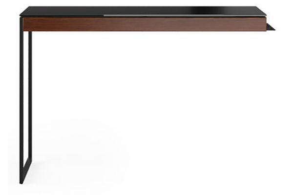Large image of BDI Sequel 20 6112 Chocolate Walnut And Black Desk Return - 6112 CWL/B