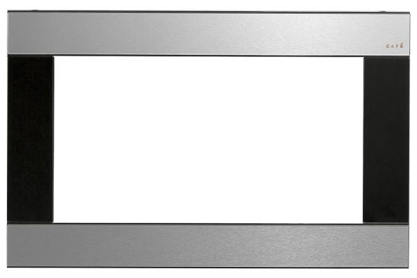 "Large image of Cafe 27"" Optional Platinum Built-In Trim Kit - CX152M2NS5"