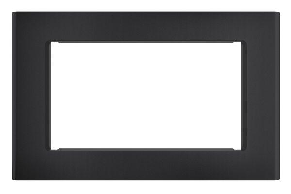 """Large image of Cafe 27"""" Optional Matte Black Built-In Trim Kit - CX152P3MDS"""