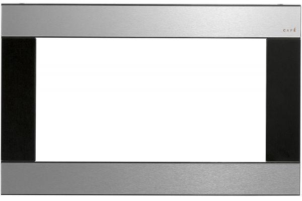 "Large image of Cafe 30"" Optional Platinum Built-In Trim Kit - CX153M2NS5"