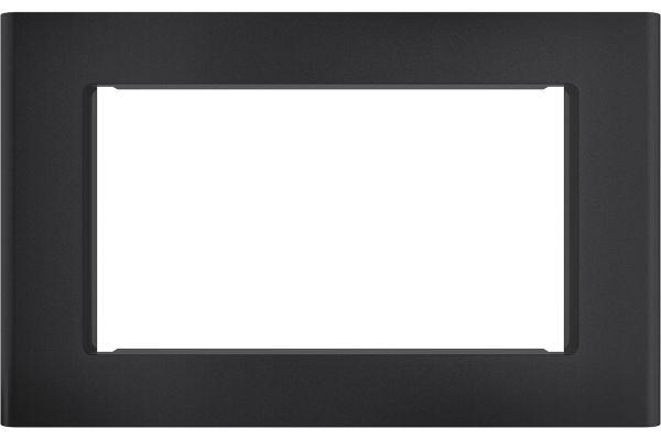 """Large image of Cafe 30"""" Optional Black Slate Built-In Trim Kit - CX153P3MDS"""