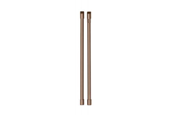 Large image of Cafe Brushed Copper Refrigeration Handle Kit - CXMS2H2PNCU
