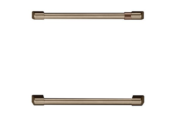 Large image of Cafe Undercounter Refrigeration Brushed Bronze Handle Kit - CXQD2H2PNBZ