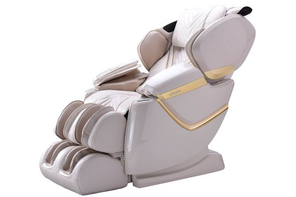 Cozzia ZEN White/White Pearl Reclining Massage Chair - CZ-641-WWP