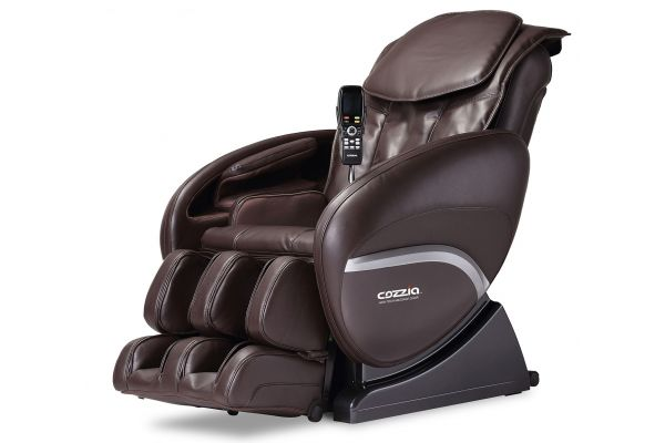 Large image of Cozzia CZ-388 Chocolate Massage Chair - CZ388CHOCOLATE