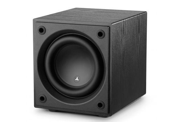 "Large image of JL Audio Dominion d108 Black Ash 8"" Powered Subwoofer - 96281"