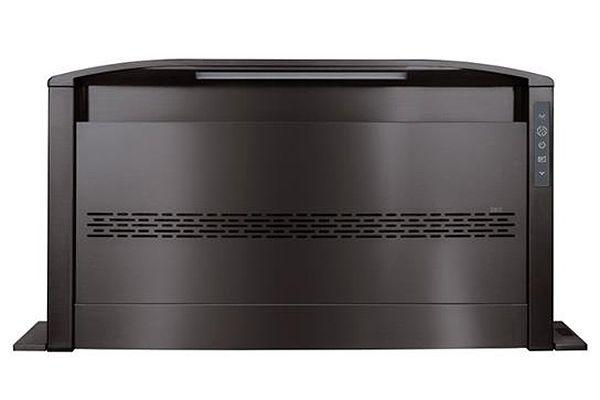 "Large image of Best 30"" Cattura Black Stainless Steel Downdraft Ventilator - D49M30BLS"