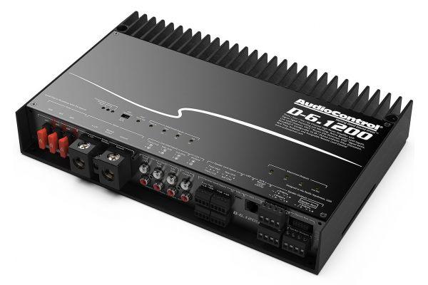 Large image of Audio Control Black 6-Channel DSP Matrix Amplifier - D-6.1200