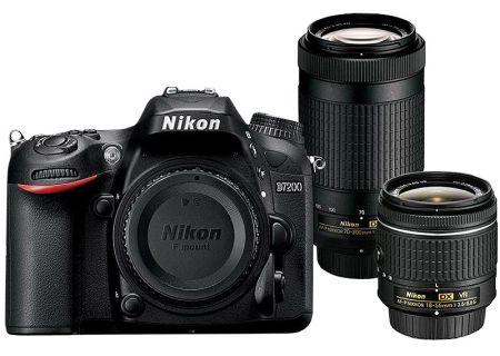 Nikon - D7200-2LENSKIT & 13533 - Digital Cameras