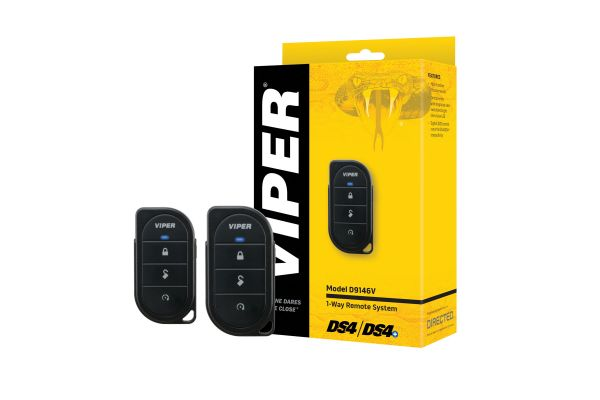 Large image of Viper 1-Way 4-Button Add-On Remote Package (Remote Start Required And Sold Separately) - D9146V