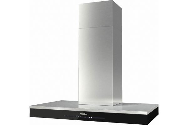 """Large image of Miele 36"""" Stainless Steel Puristic Edition 6000 Wall Hood - 10877030"""