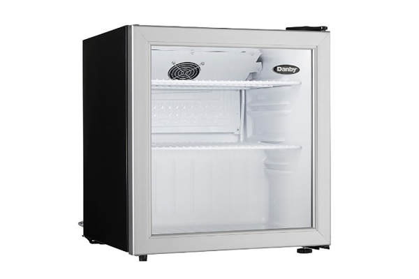 Large image of Danby 1.6 Cu. Ft. Stainless Frame Compact Refrigerator - DAG016A1BDB