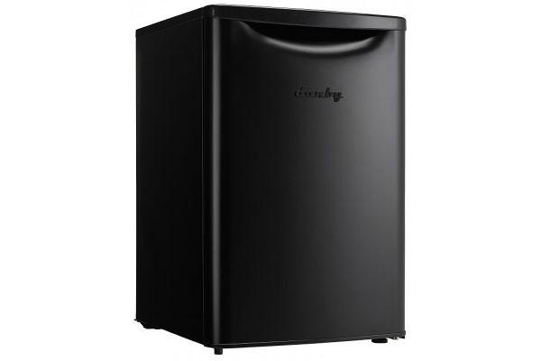Danby 2.6 Cu. Ft. Black Comtemporary Classic Compact Refrigerator - DAR026A2BDB
