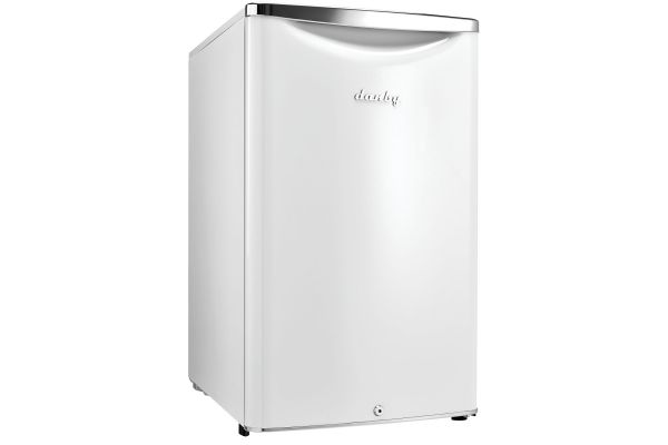 Large image of Danby 4.4 Cu. Ft. Contemporary Classic White Compact Refrigerator - DAR044A6PDB