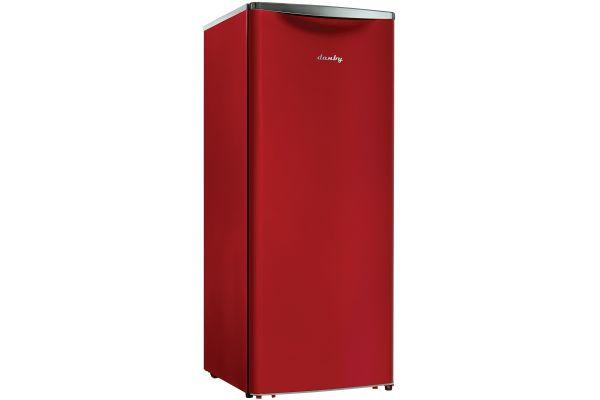 Danby 11 Cu.Ft. Red Compact All Refrigerator - DAR110A2LDB