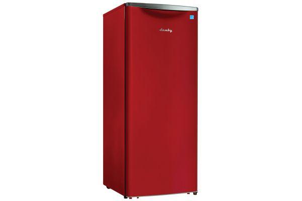 Danby 11 Cu. Ft. Red Contemporary Classic Apartment Size Refrigerator - DAR110A3LDB