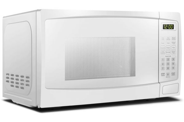 Large image of Danby 0.7 Cu. Ft. White Microwave - DBMW0720BWW