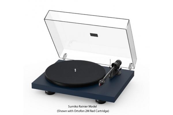 Large image of Pro-Ject Debut Carbon EVO Satin Steel Blue Turntable - DCARBONEVOBLU