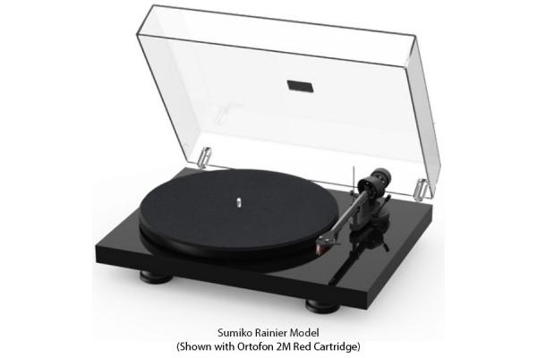 Large image of Pro-Ject Debut Carbon EVO Gloss Black Turntable - DCARBONEVOGBK