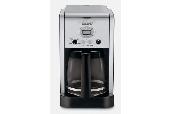 Large image of Cuisinart Extreme Brew Aluminum 12 Cup Programmable Coffeemaker - DCC-2650P1