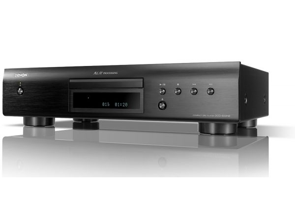 Large image of Denon Black CD Player With AL32 Processing - DCD-600NE