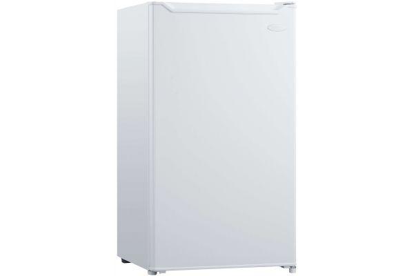 Large image of Danby Diplomat 3.3 Cu. Ft. White Compact Refrigerator - DCR033B1WM