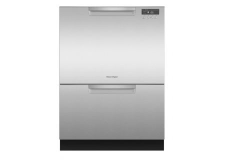 "Fisher & Paykel 24"" Stainless Steel Double DishDrawer Dishwasher  - DD24DCHTX9"