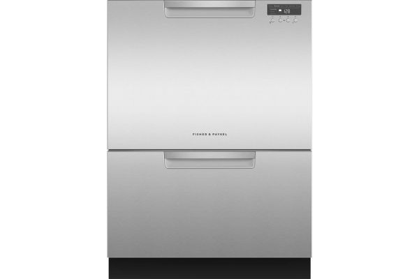 "Fisher & Paykel 24"" Stainless Steel Tall Double DishDrawer Dishwasher - DD24DCHTX9N"