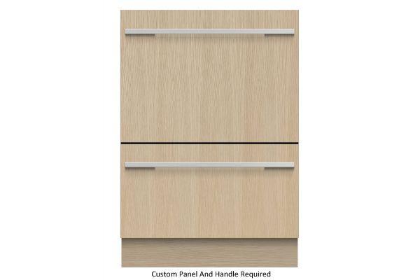 "Large image of Fisher & Paykel Series 9 24"" Custom Panel Tall Double DishDrawer Dishwasher - DD24DHTI9N"