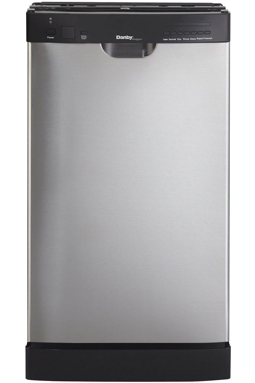 Danby 18 Stainless Built In Dishwasher Ddw1802ebls