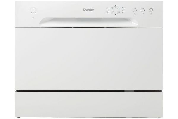 "Large image of Danby 22"" White Countertop Dishwasher - DDW621WDB"
