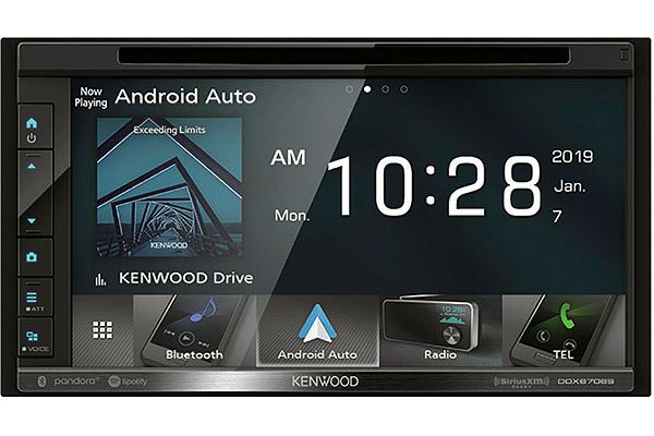 Kenwood eXcelon In-Dash Bluetooth DVD Receiver - DDX-6906S